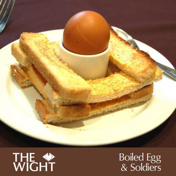 Bioiled egg
