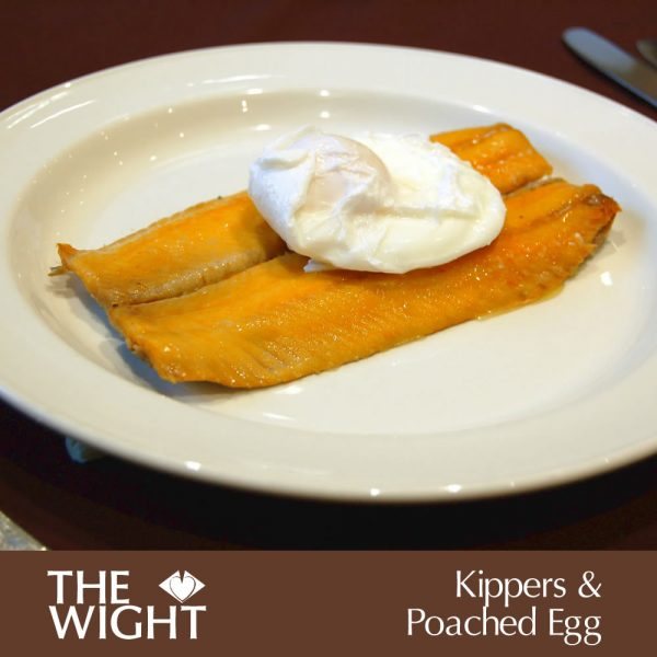 Kippers & poached egg