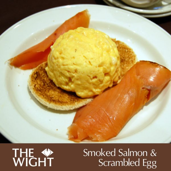 Smoked salmon & scrambled egg
