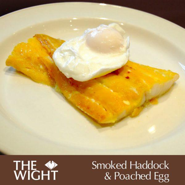 Smoked haddock & poached egg