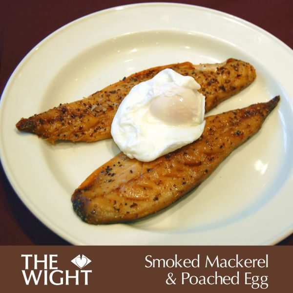 Smoked mackeral & poached egg